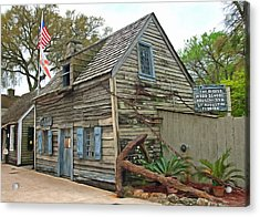 Oldest Wood School House In The Usa Acrylic Print