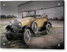 Acrylic Print featuring the photograph Old Ford Model A Coupe by Dyle   Warren