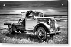 Oldsmobile Acrylic Print by Shannon Rogers
