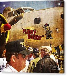 Ole Fuddy Duddy Acrylic Print