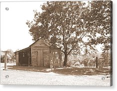 Ole Homeplace Acrylic Print by Angelia Hodges Clay