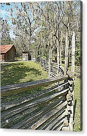 Ole Horse Barn Acrylic Print