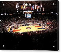 Ole Miss Rebels C.m. 'tad' Smith Coliseum Acrylic Print by Replay Photos