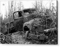 Ole Truck Of Jackfish Acrylic Print