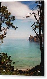 Oleiros Beach Acrylic Print