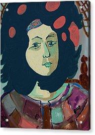 Olga  Acrylic Print by Oscar Penalber