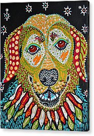Olie Girl Acrylic Print