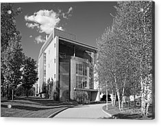 Olin College Academic Center Acrylic Print by University Icons