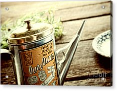 Olio D'oliva  Acrylic Print by Olivier Le Queinec
