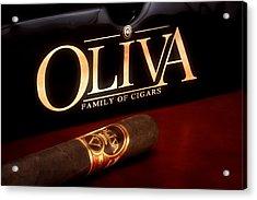 Oliva Cigar Still Life Acrylic Print