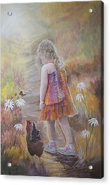 Olive And Mamacita Acrylic Print by Jerry McElroy