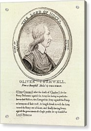 Oliver Cromwell Acrylic Print