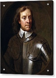 Oliver Cromwell Acrylic Print by War Is Hell Store
