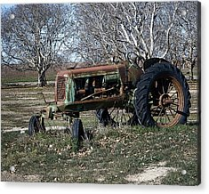 Oliver Farm Tractor Acrylic Print
