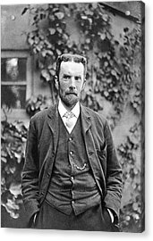 Oliver Heaviside Acrylic Print by Science Photo Library