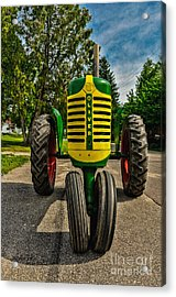 Acrylic Print featuring the photograph Oliver Row Crop Ogdensburg Puller by Trey Foerster