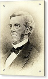 Oliver Wendell Holmes Acrylic Print by Underwood Archives