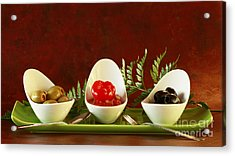 Olives Anyone Acrylic Print by Inspired Nature Photography Fine Art Photography