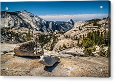 Olmsted Point Acrylic Print by Chuck De La Rosa