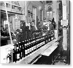 Olympia Brewing Company Bottling Line 1914 Acrylic Print