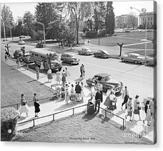 Olympia High School 1958 Acrylic Print by Merle Junk