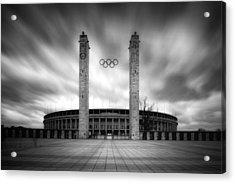 Olympia Acrylic Print by Marc Huebner