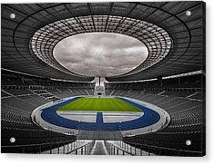 Olympia Stadion Berlin Acrylic Print