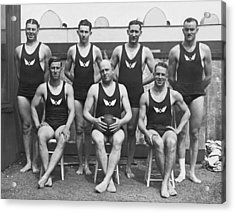 Olympic Club Water Polo Team Acrylic Print by Underwood Archives