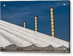 Olympic Columns Acrylic Print