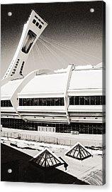 Olympic Stadium Acrylic Print by Arkady Kunysz