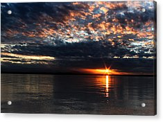 Acrylic Print featuring the photograph Olympic Sunstar by David Stine