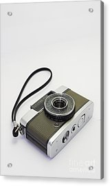 Olympus Pen-film Camera Acrylic Print by Tuimages