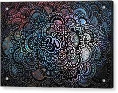 Om Sweet Om Acrylic Print