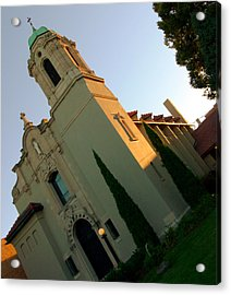 Acrylic Print featuring the photograph Omaha Church by Jeff Lowe