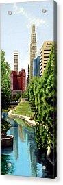 Omaha Skyline Acrylic Print