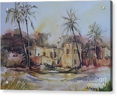 Omani House Acrylic Print