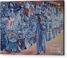 Omdurman Markit Acrylic Print by Mohamed Fadul