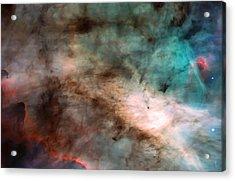 Omega Swan Nebula 1 Acrylic Print by The  Vault - Jennifer Rondinelli Reilly