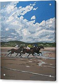 Omey Horse Races Cladaghduff Connemara Ireland Acrylic Print