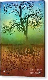 Omid Acrylic Print by Ryan Burton