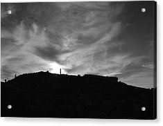 Ominous Sky Over Mt. Washington Acrylic Print
