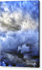 Ominous Storm Clouds Acrylic Print by Thomas R Fletcher