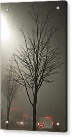 On A Foggy Night Acrylic Print