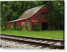 On A Tennessee Back Road Acrylic Print