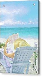On Beach Time Acrylic Print