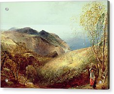 On Chalden Down, Dorset, C.1834-35 Acrylic Print