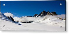On Fox Glacier Acrylic Print