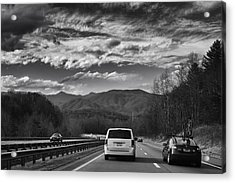 Acrylic Print featuring the photograph On Interstate 40 West by Ben Shields