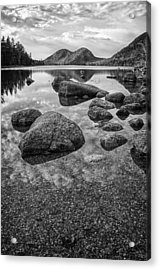 On Jordan Pond Acrylic Print