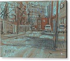 On Marietta Street Acrylic Print by Donald Maier